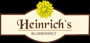 Heinrich's Blumenwelt Logo