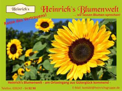 Heinrich's Blumenwelt