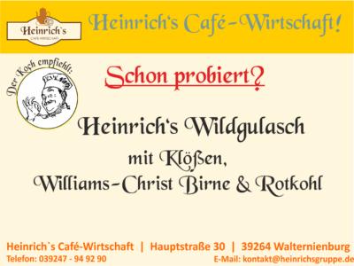 Heinrich's Wildgulasch